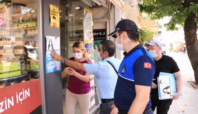 Yalova Belediyesi'nden maske uyarısı