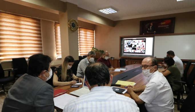 2020-2021 Eğitim Öğretim yılı hazırlık toplantısı yapıldı