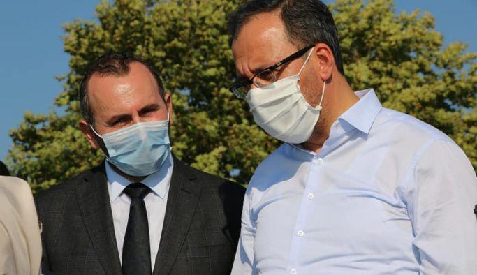 Bakan Dr. Mehmet Kasapoğlu Yalova'da