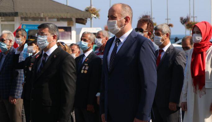 Çınarcık'ta 30 Ağustos törenle kutlandı