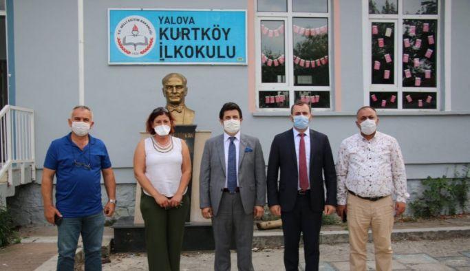 Kurtköy İlkokulu ziyaret edildi