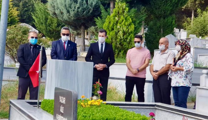 Şehit Sercan Yazar'ın 10. Yıl seneyi devriyesi anıldı