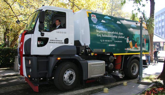 Yalova Belediyesi'nin araç filosu genişliyor