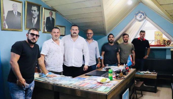 Yalovaspor Başkanından Tanaçan'a ziyaret