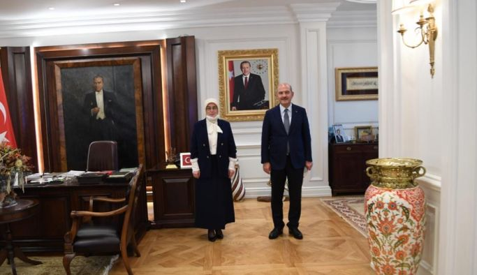 Akyol, İçişleri Bakanı Soylu'yu ziyaret etti