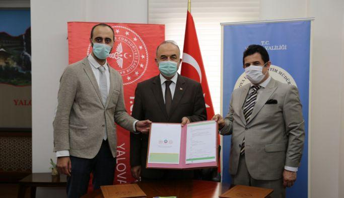 'Eğitim ve Sağlık El Ele Projesi' İşbirliği Protokolü imzalandı
