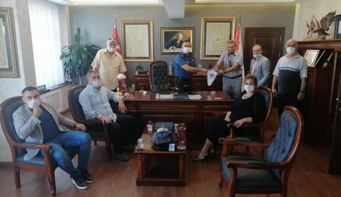 TÜRFAD, Emniyet Müdürü Fidan'ı ziyaret etti