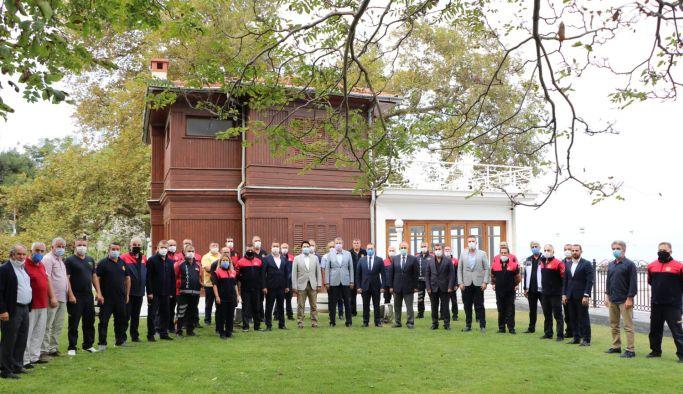 Tutuk, Yalovalılar adına itfaiye ekiplerine teşekkür etti