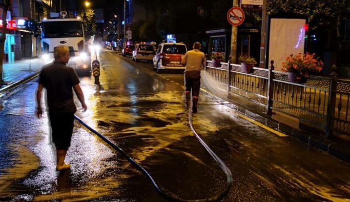 Yalova Belediyesi gece gündüz çalışıyor