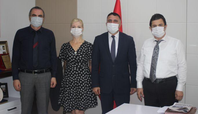 YGC'den Yeniyol'a 'hayırlı olsun' ziyareti