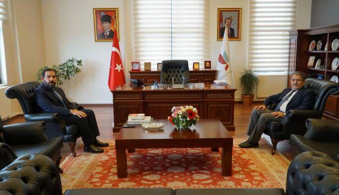 Başkan Soygüzel, Rektör Cebeci'yi ziyaret etti