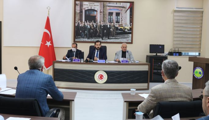 Meclis toplantısının ikinci birleşimi tamamlandı