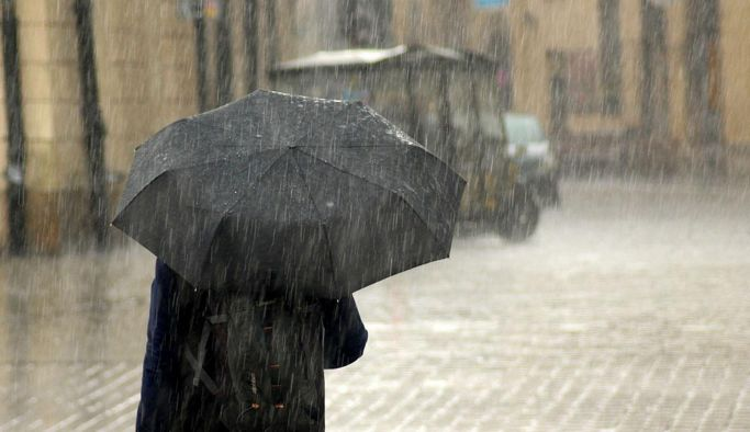 Sağanak yağışa dikkat!