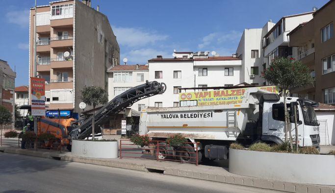 Şehit Ömer Faydalı Caddesi'nde çalışmalar başladı