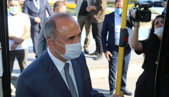 Vali Erol ve Başkan Vekili Tutuk denetime çıktı