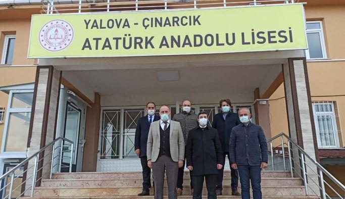 Çınarcık Atatürk Anadolu Lisesi öğrencilerini bekliyor