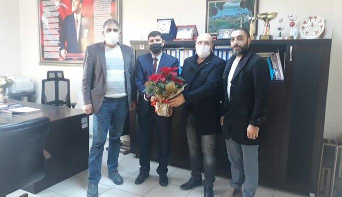 Erzurumlular Derneği'nden Sitar'a ziyaret