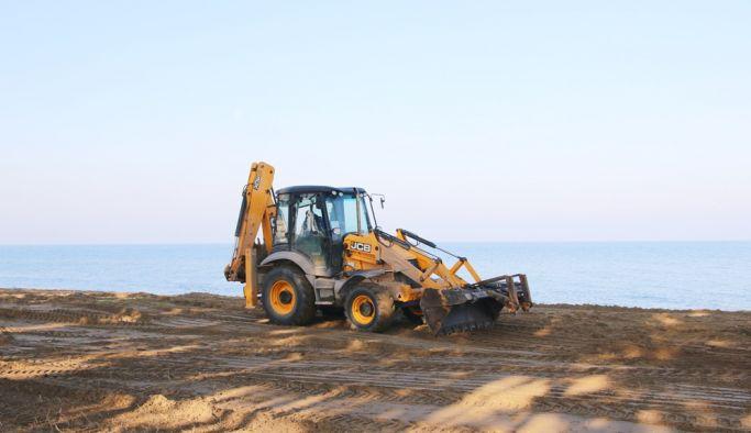 Doğu sahil bandında ilk etap çalışmaları bitti
