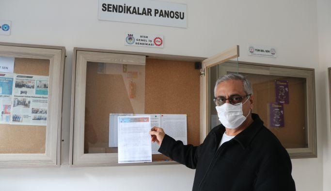 Yalova Belediyesi'ne grev kararı asıldı