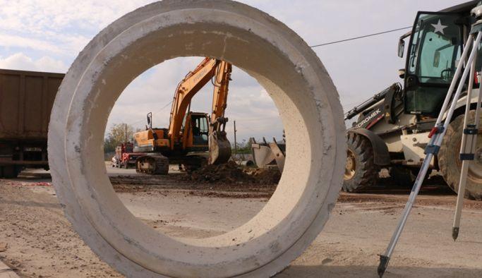 5 bin 575 metre kanalizasyon hattı tamamlandı