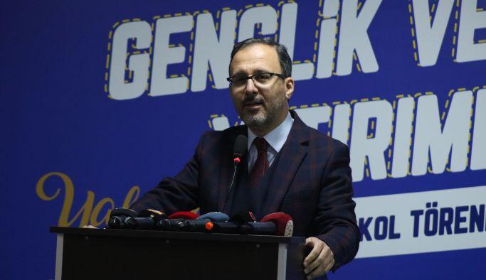 """Kasapoğlu; """"Yalova, spor tesislerine doyacak"""""""