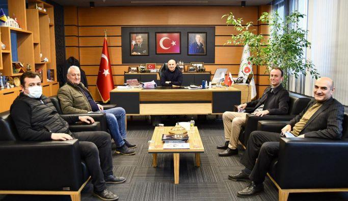 Kastamonulu Başkandan Oral'a ziyaret