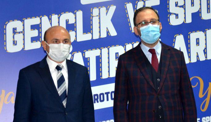 Oral'dan Bakan Kasapoğlu'na teşekkür