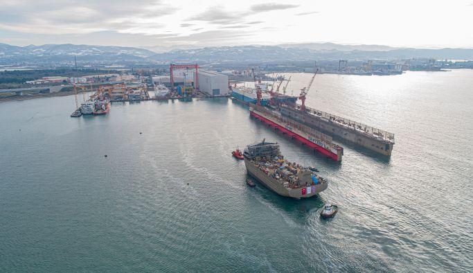 Sefine Tersanesi Gasø Høvdıng'i denize indirdi