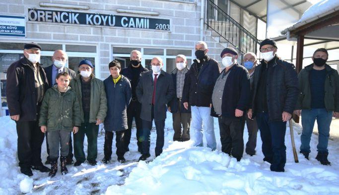 Başkanlardan köylere ziyaret