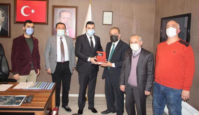 BTP, Başkan Bağatar'ı makamında ziyaret etti