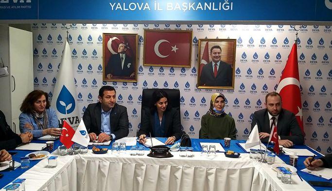 DEVA Partisi Bölge Koordinatörü Yalova'da