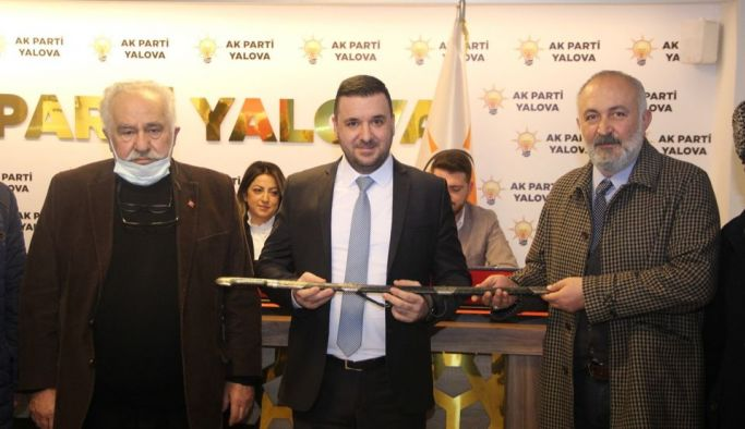 Muğlim Bağatar AK Parti İl Yönetimini ağırladı