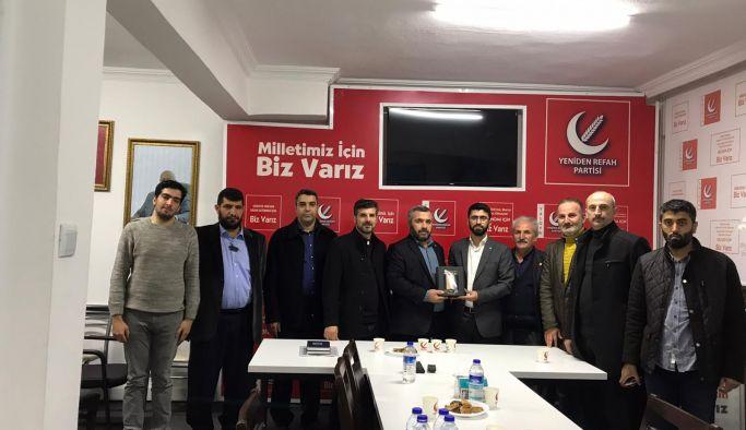 Özer'den Yeniden Refah Partisi'ne Ziyaret!