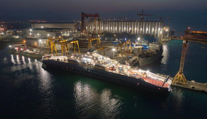 Yalova da Dünya'nın en büyük elektrikli feribotu yapıldı