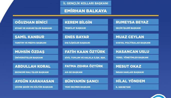 AK Parti Yalova İl Gençlik Kolları 6. Dönem Yürütme Kurulu belli oldu