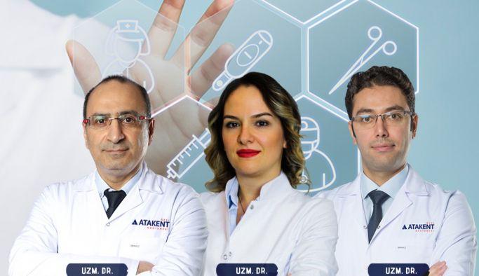 Atakent Hastanesi, tüm branşları destekliyor