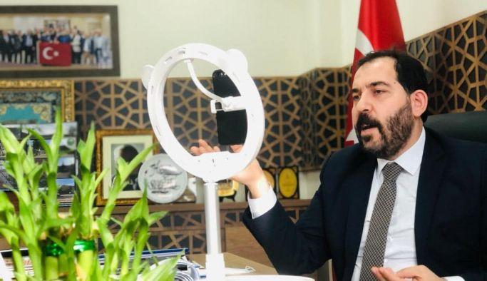 Başkan Soygüzel, Adenyum Teknoloji ile birlikte online toplantı yaptı