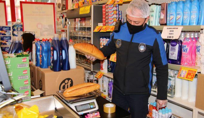 Belediye, ekmek gramajını kontrol ediyor