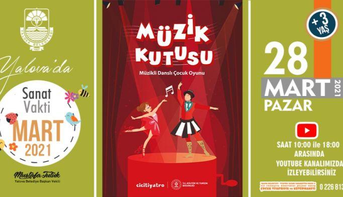 Belediyeden çocuklara online tiyatro