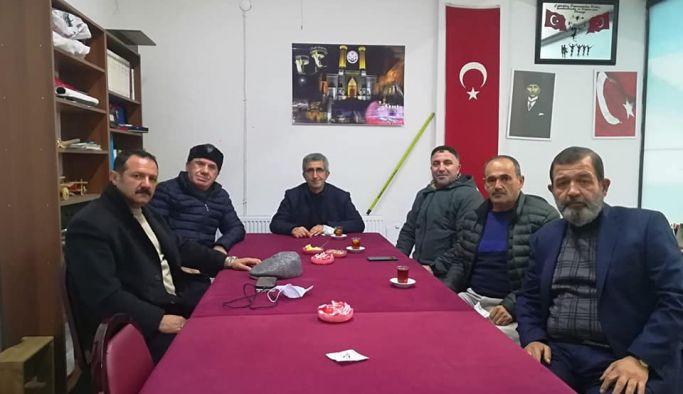 Çiftlikköy Erzurumlular Derneği'ne ziyaretler sürüyor