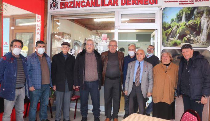 Erzincanlılar olağanüstü toplandı