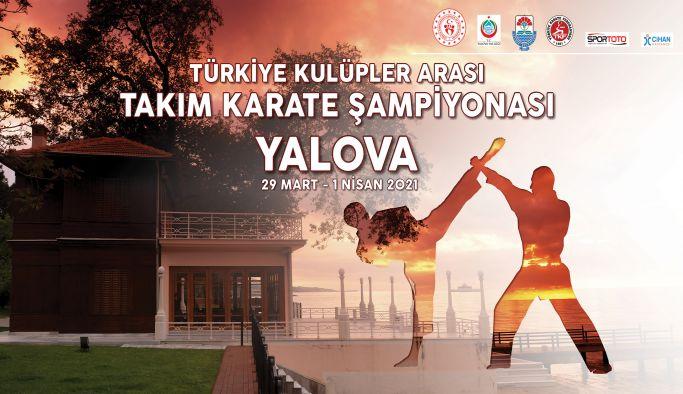 Karate Şampiyonası Yalova'da yapılıyor