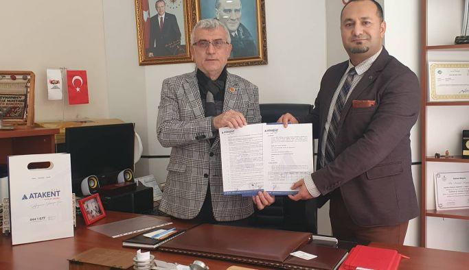 Muhtarlar Atakent'le anlaştı