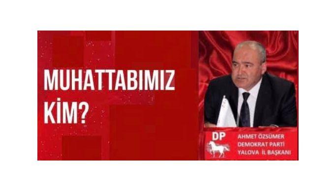 """Özsümer, """"Talimat Ankara'dan mı, yoksa milletvekillerinden mi geliyor?"""""""