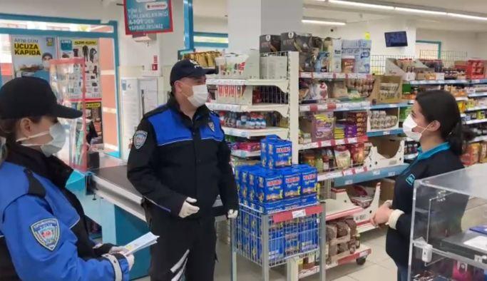 Polisler uyarı ziyaretine başladı
