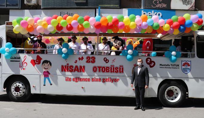 Belediyeden 23 Nisan Otobüsü
