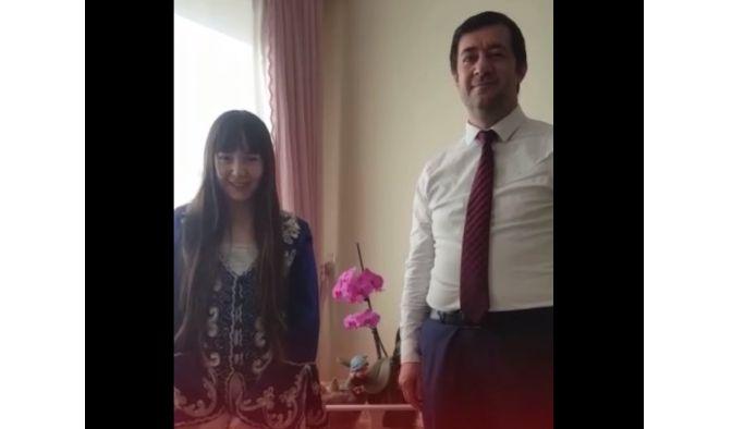Subaşı çocuklarından videolu 23 Nisan kutlaması