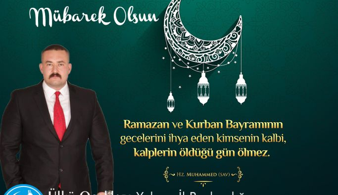 Başkan Tanaçan'dan Ramazan Bayramı mesajı
