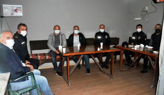 Oral'dan polis kontrol noktalarına ziyaret