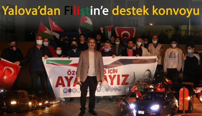 Yalova'dan Filistin'e destek konvoyu